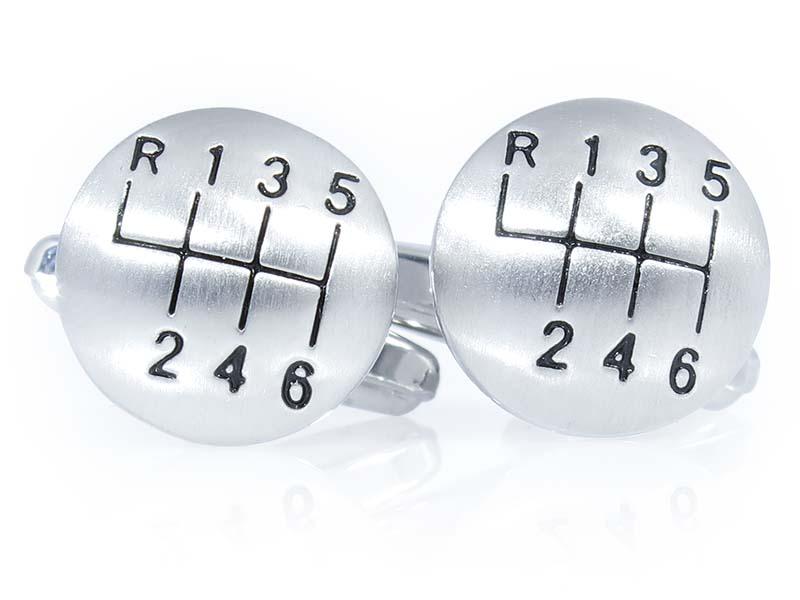 Spinki do mankietów - gałki skrzyni biegów A221