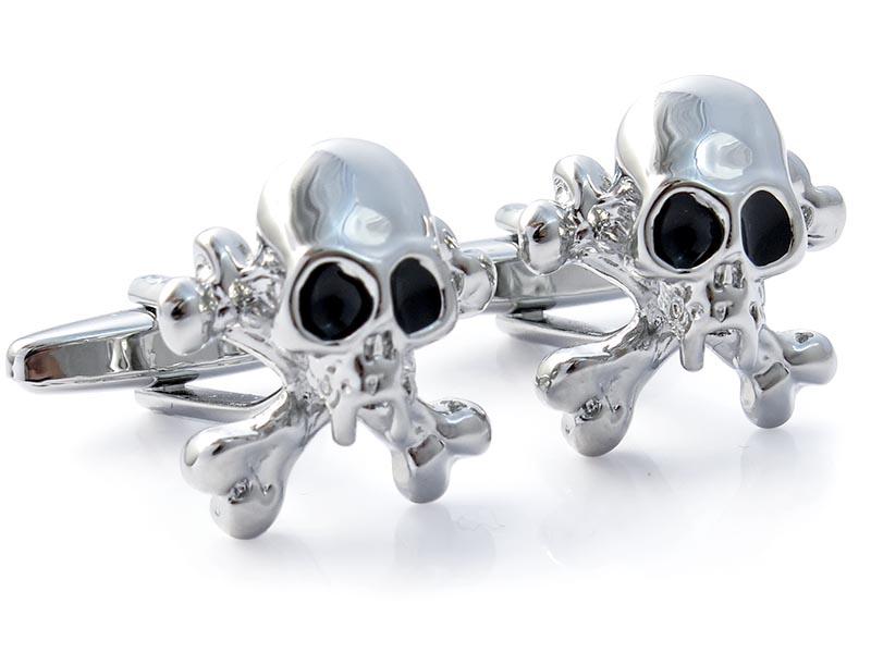 Spinki do mankietów - czaszki N125