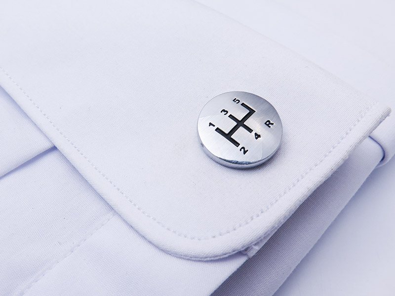 Spinki do mankietów - gałki skrzyni biegów N81