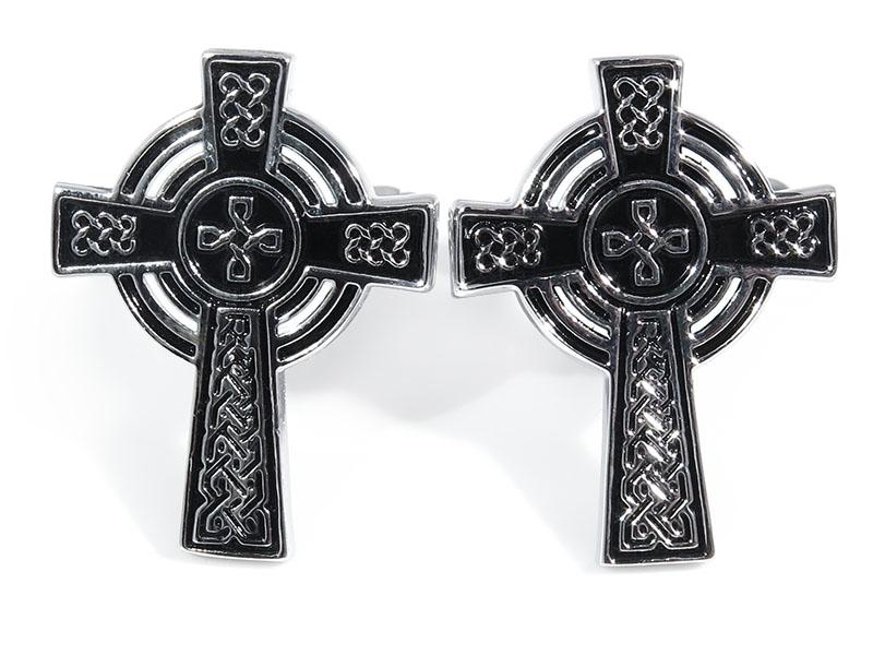 Spinki do mankietów - krzyże celtyckie U233