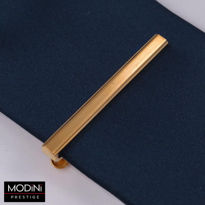 Złota klasyczna spinka do krawata