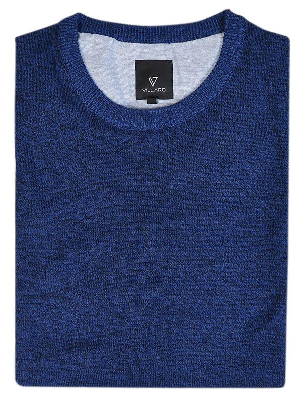 Granatowy sweter męski SW34