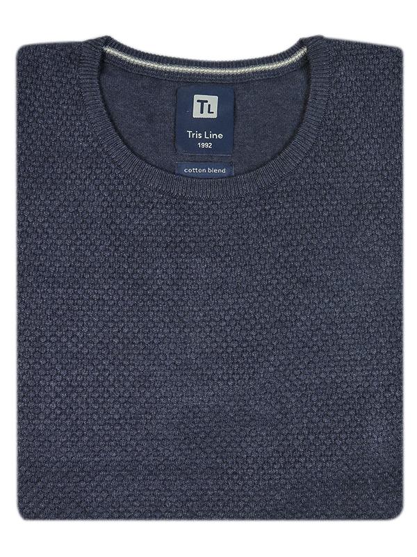 Grafitowy sweter męski SW39