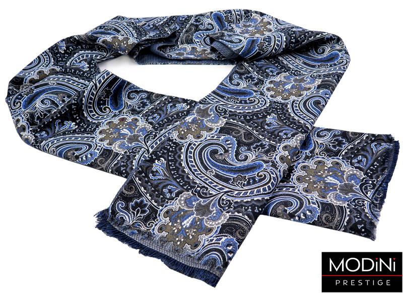 bawełniany szalik w paisley