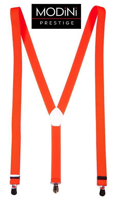 Pomarańczowe damskie szelki 2,5cm